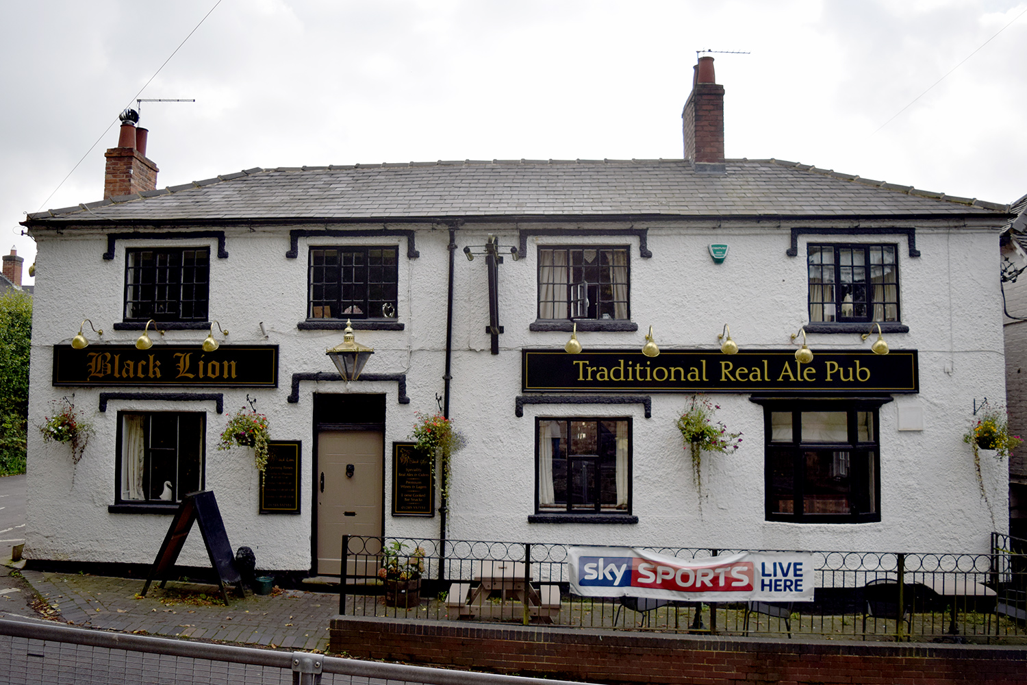 The Black Lion in Blackfordby